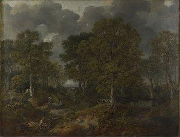 Thomas Gainsborough, Cornard Wood, near Sudbury, Suffolk 1748