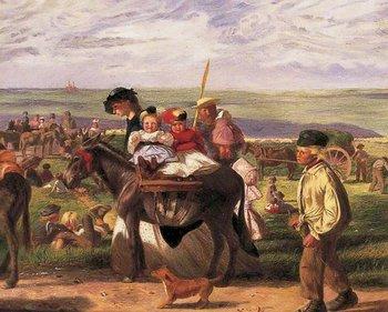 Arthur Boyd Houghton, At the Seaside, Pegwell Bay, near Ramsgate, Kent 1862