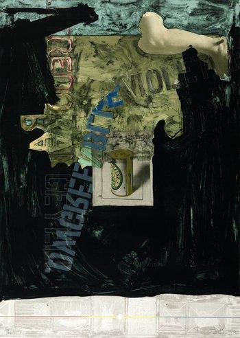 Jasper Johns Decoy 1971