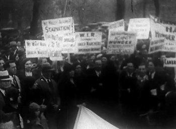 Still from Hunger March 1931