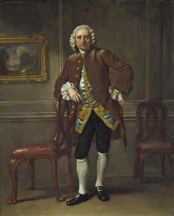 Francis Hayman, George Dance the Elder c.1750