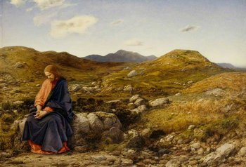 William Dyce, The Man of Sorrows c.1860