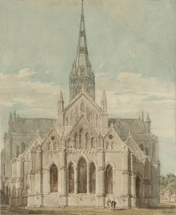 Joseph Mallord William Turner Salisbury Cathedral from the East c.1798