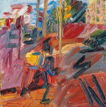 Frank Auerbach Hampstead Road, High Summer