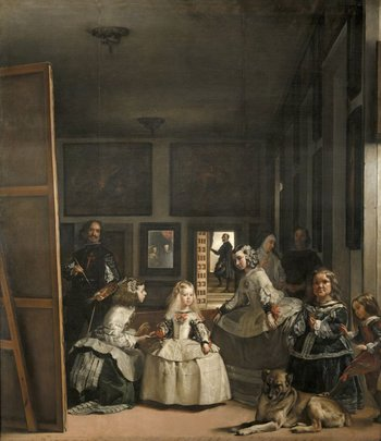 Las Meninas, or The Family of Felipe IV by Velázquez, c. 1656