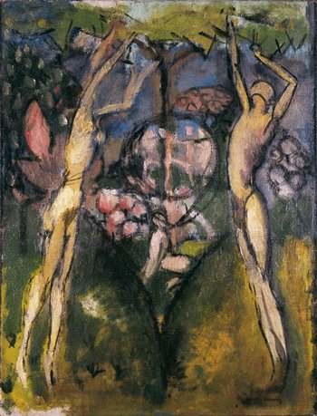 Marcel Duchamp Young Man and Girl in Spring 1911