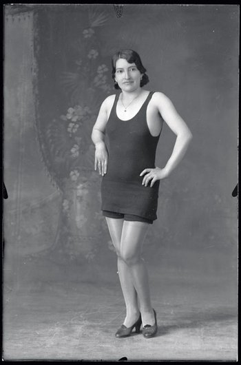 Martín Chambi Girl in Bathing Suit 1932, printed 2008