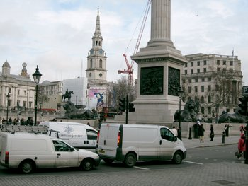 Nigel Shafran Digital reference photograph of Trafalgar Square 2007