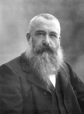 Claude Monet, photographed by Paul Nadar