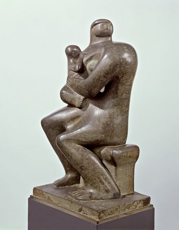 Henry Moore Mother and Child, 1932
