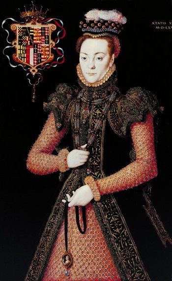 Hans Eworth Portrait of an Unknown Lady circa 1565-8