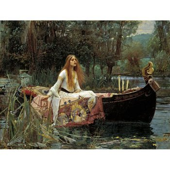 Waterhouse: Lady of Shalott (custom print)