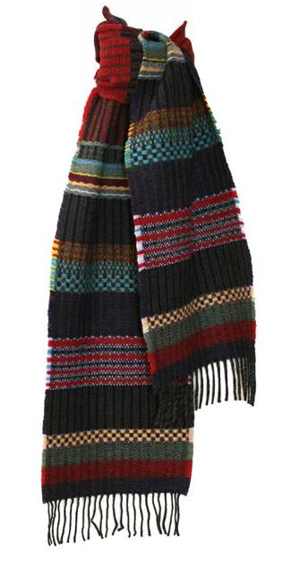 Pre-Raphaelite inspired scarf