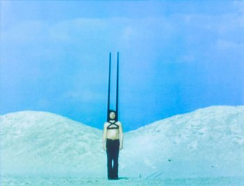 Rebecca Horn, Performances I 1972 (film still)