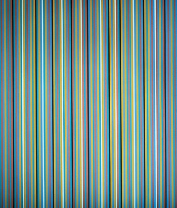 Silvered, 1981 oil on linen 240.7 x 203.2 cm