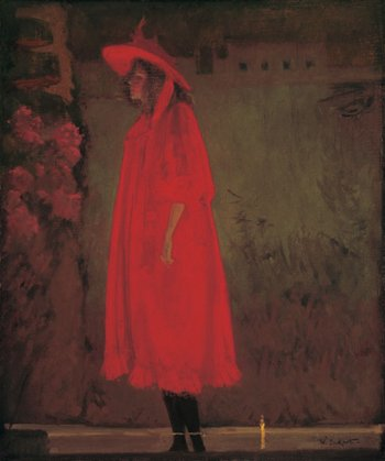 Walter Richard Sickert Minnie Cunningham at the Old Bedford 1892 Oil on canvas