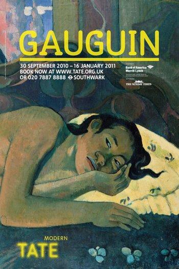 Tate Modern Gauguin exhibition poster