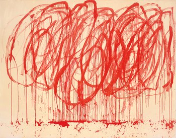 Cy Twombly - Untitled II from the Bacchus series, 2005