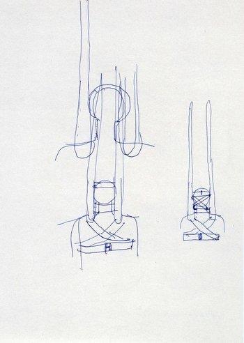 Rebecca Horn, Untitled 1968–9