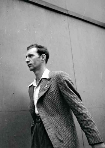 Walker Evans From the series Labor Anonymous, studies of pedestrians in Detroit, Michigan, commissioned by Fortune magazine 1946 two