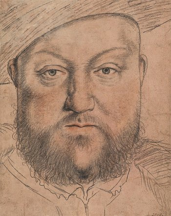 Workshop of Hans Holbein the Younger Henry VIII