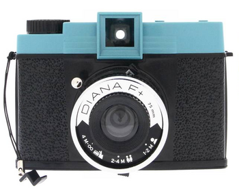 Diana+ camera packages lomography camera