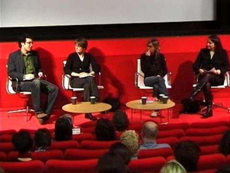 Still image of Making Public, Seminar 2: Rosalyn Deutsche, Jane Rendell, Gillian Rose - 3 parts