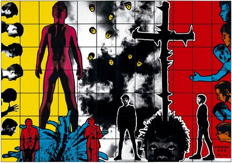 Gilbert & George, Finding God 1982