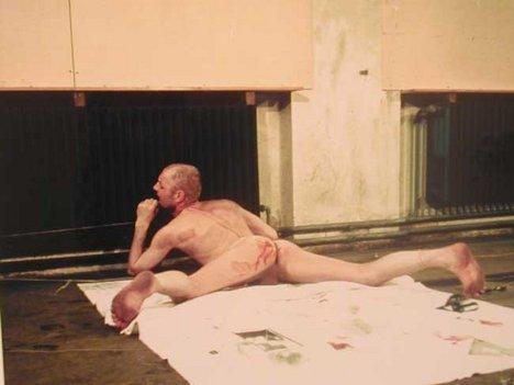 Günter Brus Endurance Test 1970