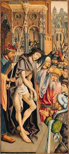 Master of the Bruges Passion Series Christ Presented to the People c.1510
