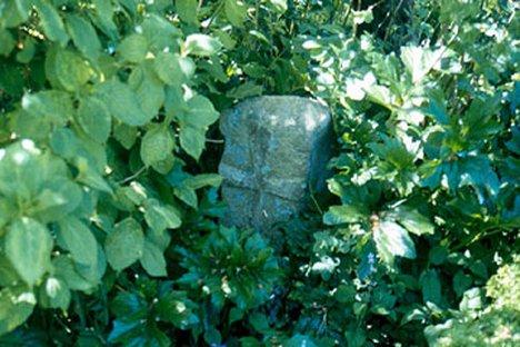 Dalshangan Cross, Broughton House Author's photograph