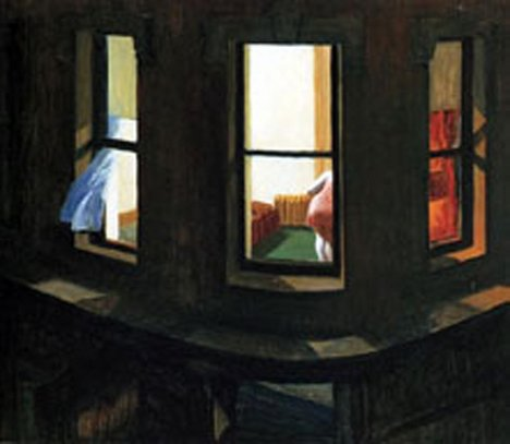 Edward Hopper Night Windows 1928