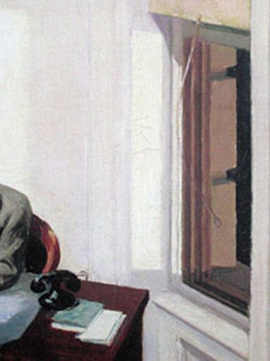 Edward Hopper Office at Night 1940 (detail)