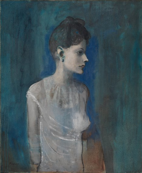 Pablo Picasso Girl in a Chemise c.1905
