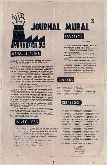 Journal Mural 3 1968