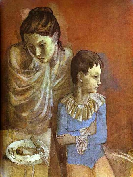 Pablo Picasso Mother and Child, Acrobats 1904–5