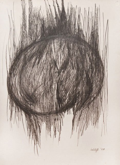 Sonia Gechtoff Untitled Drawing no. 4