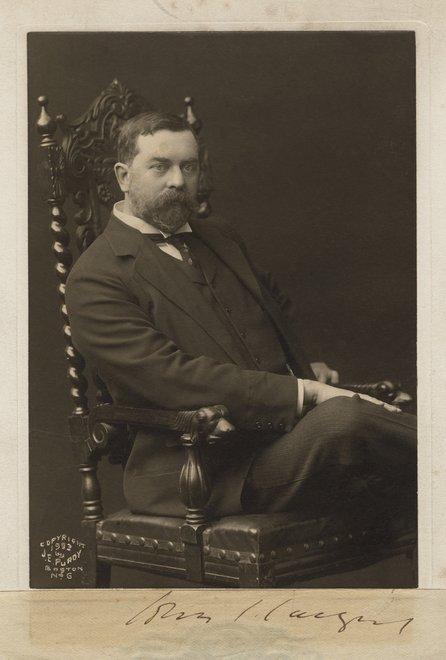 James E. Purdy, Photograph of John Singer Sargent 1903