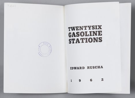 Edward Ruscha Twentysix Gasoline Stations, 1963, 3rd edition, Los Angeles 1969