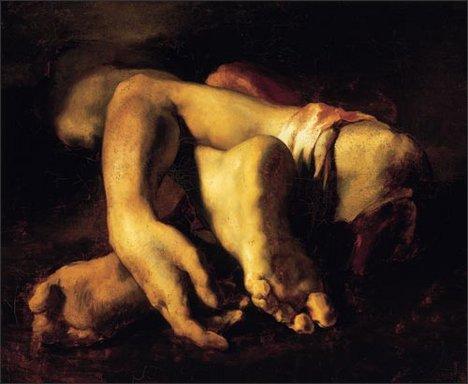 Théodore Géricault Study of Truncated Limbs about 1818-9