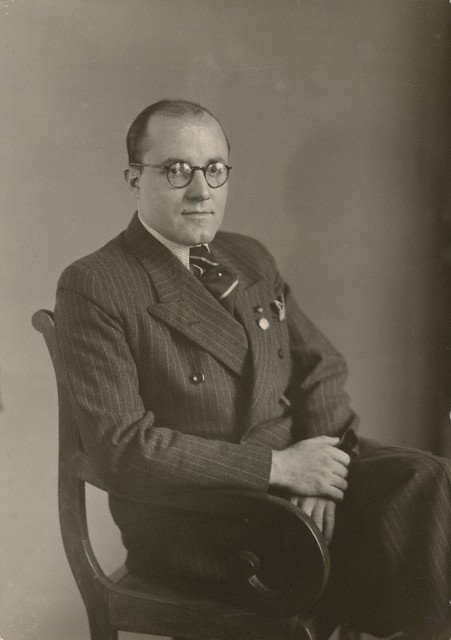 August Sander Unknown Nazi about 1930–1935