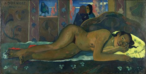 Paul Gauguin Nevermore O Tahiti 1897