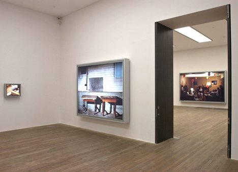 View of Jeff Wall 1978 - 2004 exhibition at Tate Modern