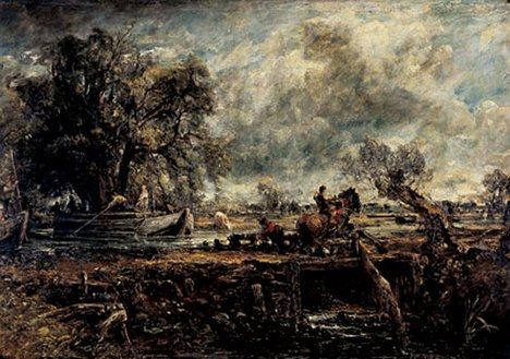 John Constable The Leaping Horse (full-size sketch) about 1824