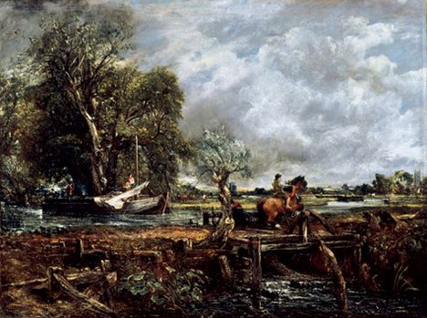 John Constable The Leaping Horse 1825