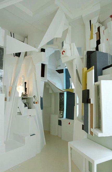 Kurt Schwitters Merzbau 1933, reconstruction by Peter Bissegger 1981–3