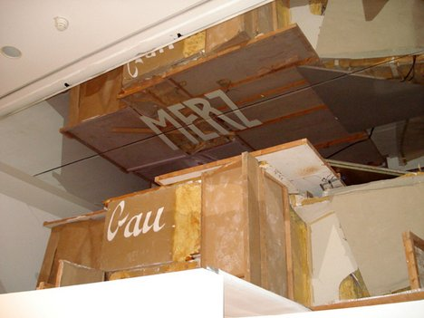 Kurt Schwitters Merzbau 1933, reconstruction by Peter Bissegger 1981–3 Present installation at the Sprengel Museum Hannover