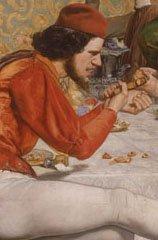 John Everett Millais Detail of Lorenzo and Isabella 1848–9