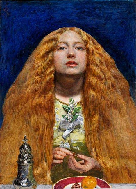 John Everett Millais The Bridesmaid 1851