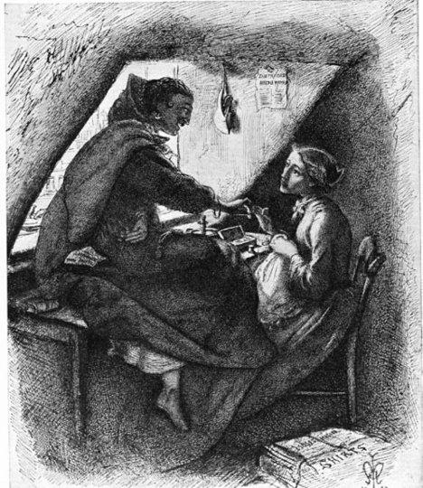 John Everett Millais Virtue and Vice 1853